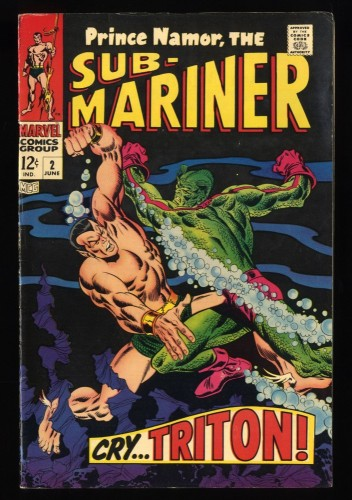 Sub-Mariner #2 FN+ 6.5