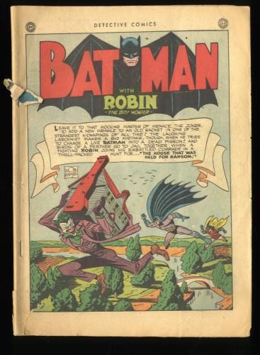 Detective Comics (1937) #102 Coverless Complete! Joker Cover! Batman!