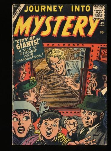 Journey Into Mystery #49 VG 4.0