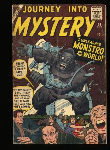 Journey Into Mystery #54 GD/VG 3.0
