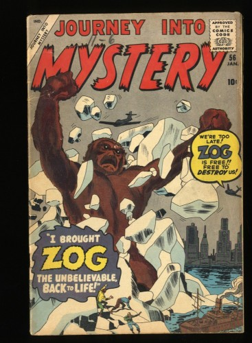 Journey Into Mystery #56 VG 4.0 Read Description!