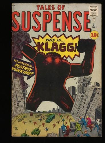 Tales Of Suspense #21 VG/FN 5.0 Pre-Hero Klagg!