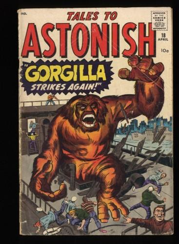 Tales To Astonish #18 FA/GD 1.5