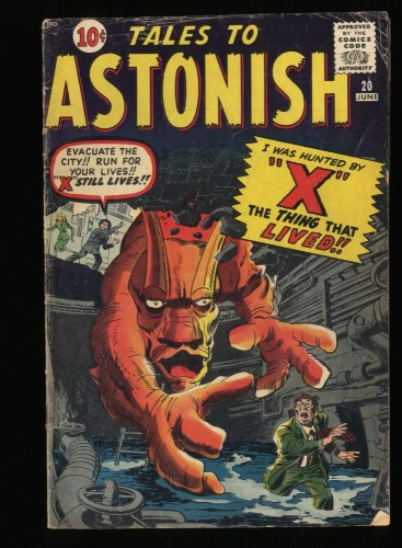 Tales To Astonish #20 VG- 3.5