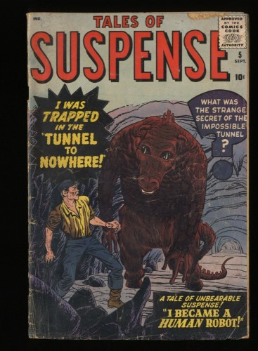 Tales Of Suspense #5 GD 2.0
