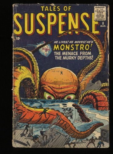 Tales Of Suspense #8 GD- 1.8
