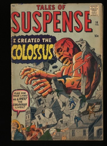 Tales Of Suspense #14 GD/VG 3.0 1st Colossus!
