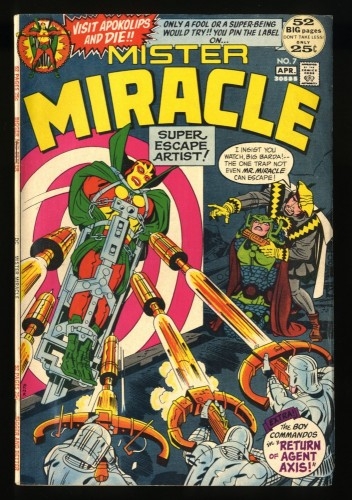Mister Miracle #7 FN+ 6.5