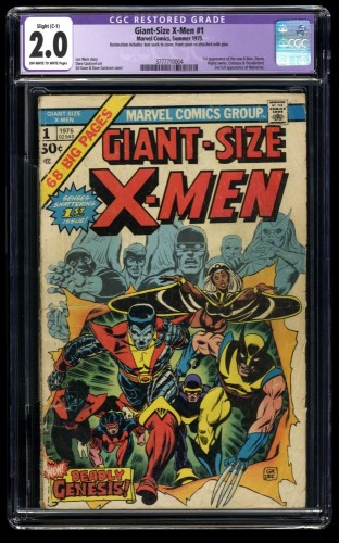 Giant-Size X-Men #1 CGC GD 2.0 Off White to White (Restored)