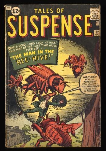 Tales Of Suspense #32 VG 4.0