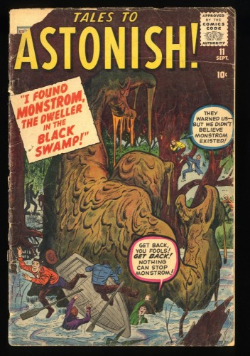 Tales To Astonish #11 FA/GD 1.5