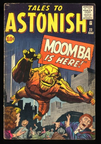 Tales To Astonish #23 GD/VG 3.0