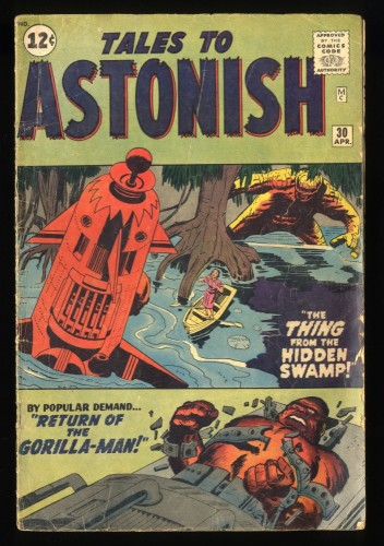 Tales To Astonish #30 Read Description!