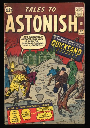 Tales To Astonish #32 VG+ 4.5 Pre-Hero Marvel!