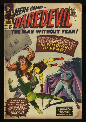 Daredevil #6 GD/VG 3.0