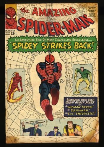 Amazing Spider-Man #19 GD/VG 3.0