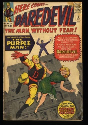 Daredevil #4 GD 2.0