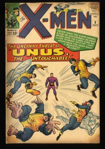 X-Men #8 GD/VG 3.0