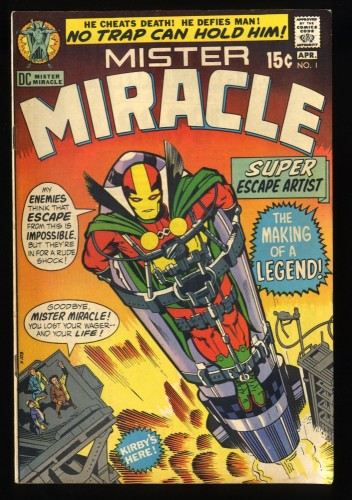 Mister Miracle #1 VG+ 4.5