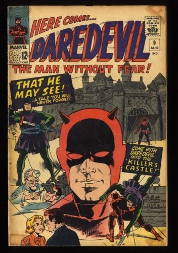 Daredevil #9 GD/VG 3.0