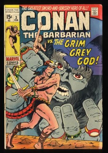 Conan The Barbarian #3 VG 4.0