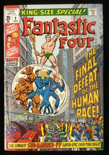 Fantastic Four Annual #8 FN/VF 7.0
