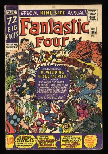 Fantastic Four Annual #3 GD 2.0