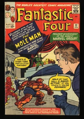 Fantastic Four #22 VG 4.0 Bright colors!