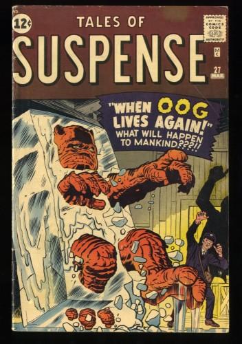 Tales Of Suspense #27 VG/FN 5.0