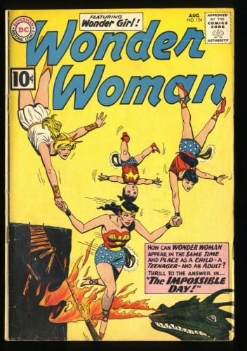 Wonder Woman #124 VG 4.0