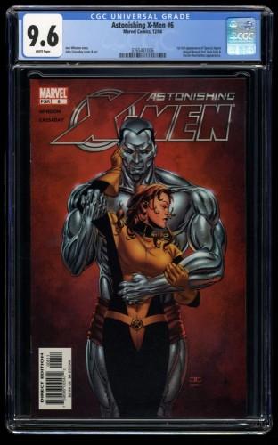 Astonishing X-Men #6 CGC NM+ 9.6 White Pages 1st Abigail Brand!