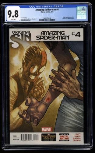 Amazing Spider-Man (2014) #4 CGC NM/M 9.8 White Pages 1st Silk!
