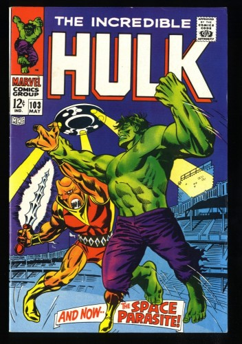 Incredible Hulk #103 VF 8.0