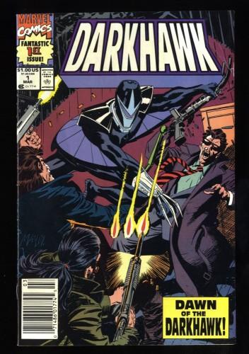 Darkhawk #1 FN+ 6.5 Newsstand Variant 1st Full Darkhawk!  Key!