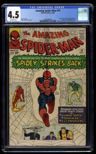 Amazing Spider-Man #19 CGC VG+ 4.5 Off White