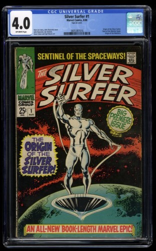 Silver Surfer #1 CGC VG 4.0 Off White