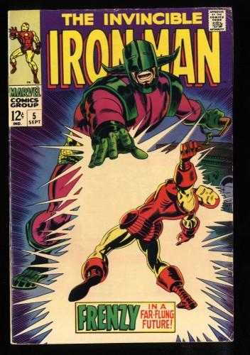 Iron Man #5 FN- 5.5