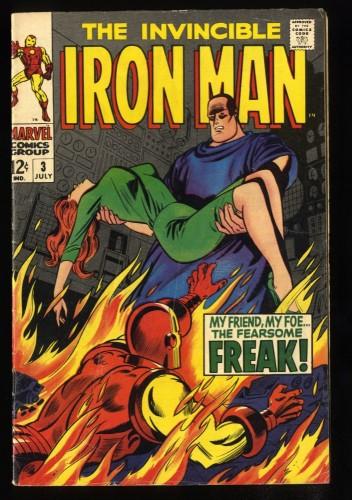 Iron Man #3 VG+ 4.5