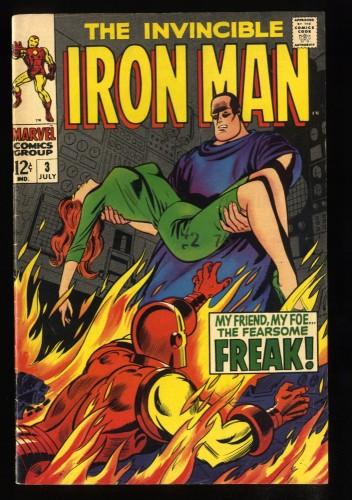 Iron Man #3 FN 6.0