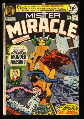 Mister Miracle #5 FN/VF 7.0 2nd Big Barda