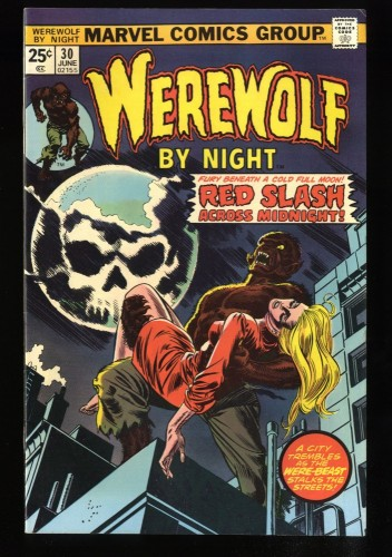 Werewolf By Night #30 VF 8.0