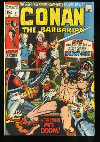 Conan The Barbarian #2 FN/VF 7.0