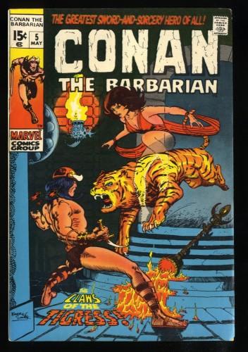 Conan The Barbarian #5 FN 6.0