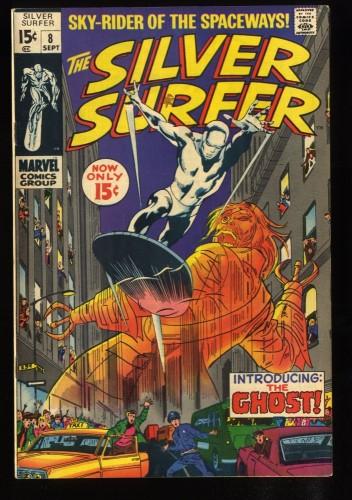 Silver Surfer #8 FN 6.0