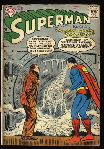 Superman #117 GD+ 2.5 Mon-El!  Lightning Lad!