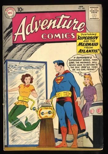 Adventure Comics #280 VG+ 4.5 Superman!