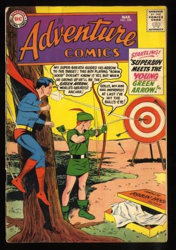 Adventure Comics #258 VG 4.0 Superboy meets Green Arrow!