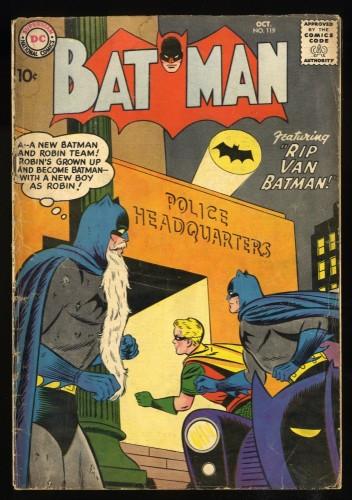 Batman #119 GD/VG 3.0