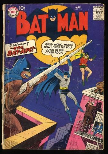 Batman #114 GD- 1.8