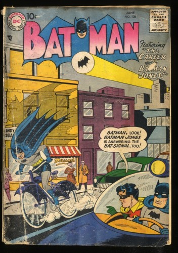 Batman #108 FA/GD 1.5